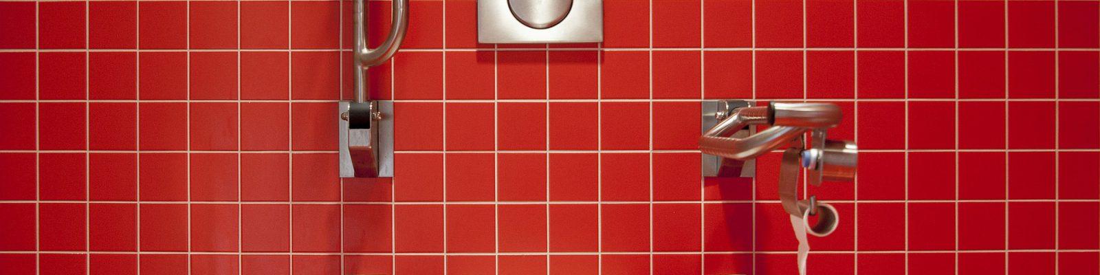 Aménagement de salle de bain pour personnes à mobilité réduite